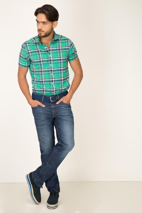 Casual Camisa Armi Lintern Sport Collar M/c 2/1