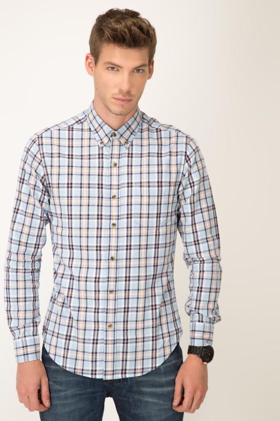 College Camisa Pronto Pac Button Down M/l 2/16