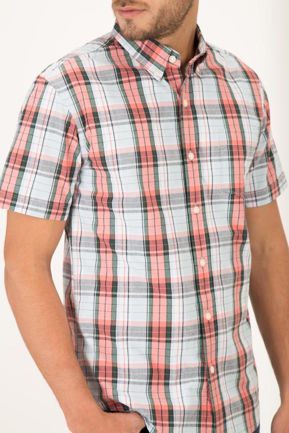 College Camisa Pronto Kolor Button Down M/c 2/16