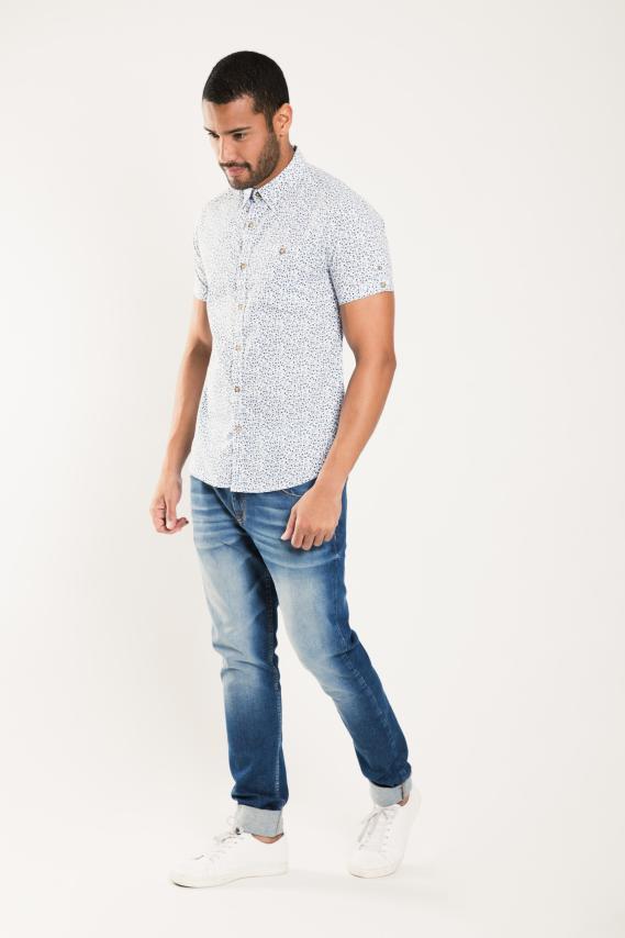 Glam Camisa Koaj Clicpout 1 Super Slim M/c 1/