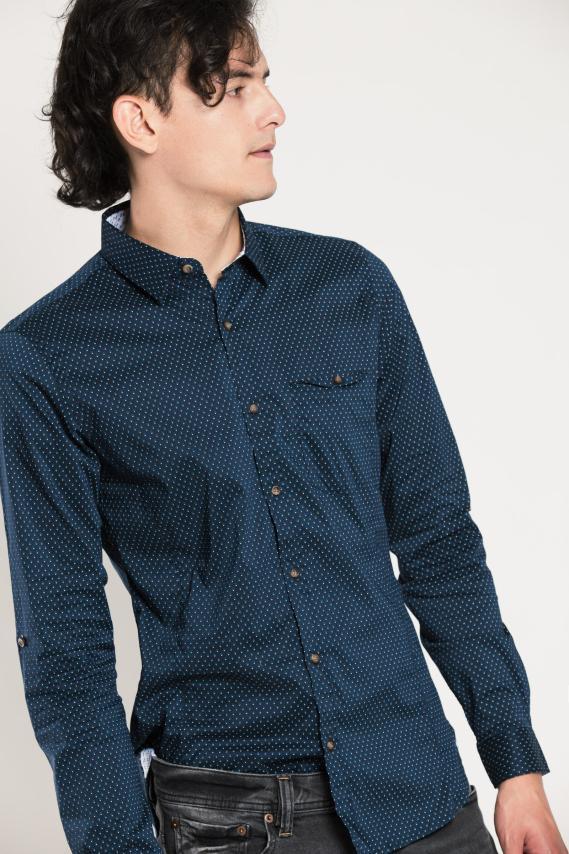 Glam Camisa Koaj Theol Super Slim M/l 1/17