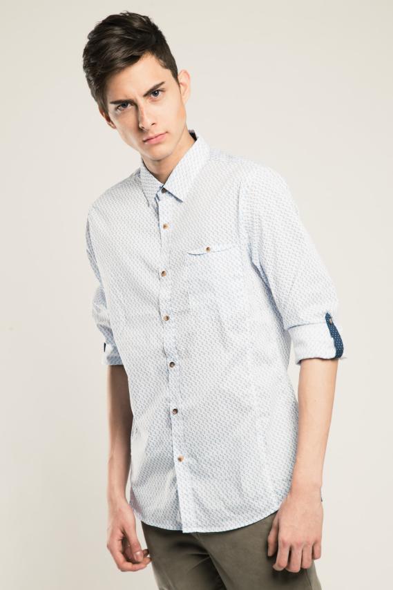 Glam Camisa Koaj Theol 1 Slim M/l 1/17