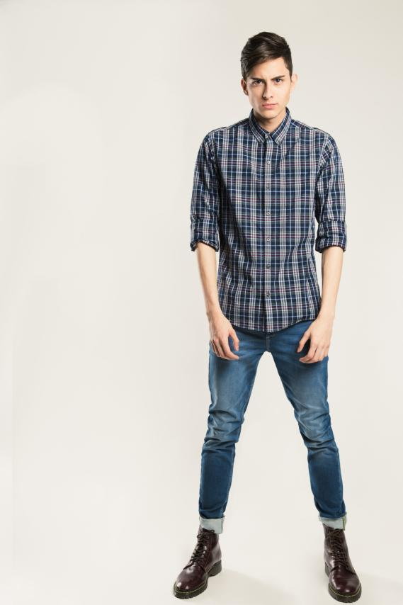 Basic Camisa Koaj Meiselly Button Down M/l 1/1
