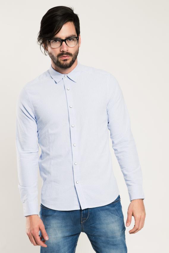 Trendy Camisa Koaj Rawt Slim M/l 1/17