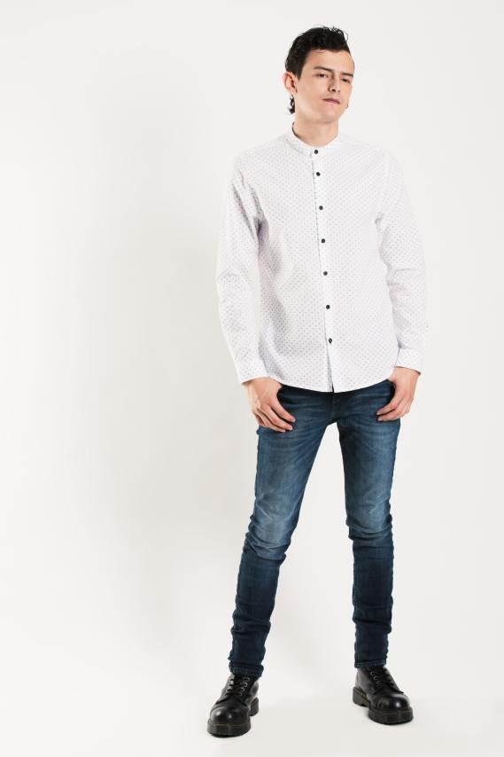 Chic Camisa Koaj Kamil Slim M/l 1/17
