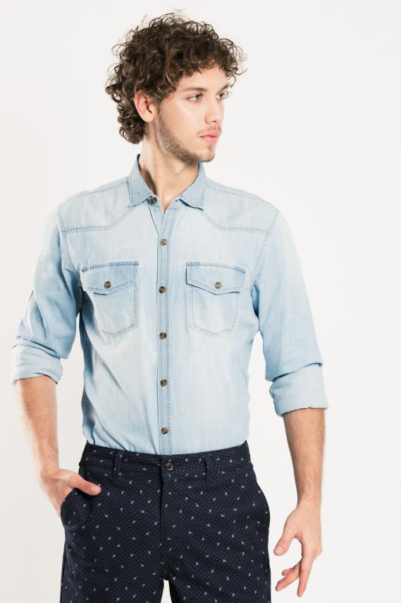 Trendy Camisa Koaj Picato Comfort M/l 2/17
