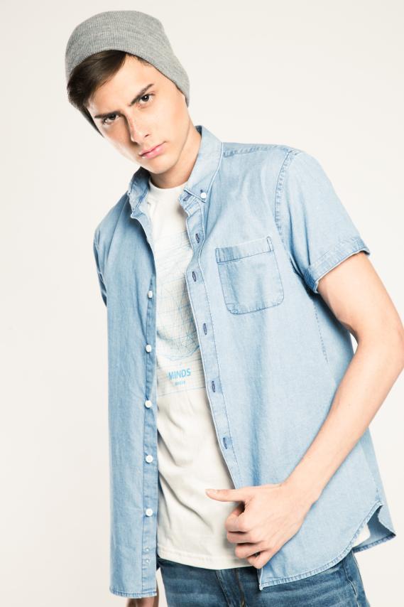 Jeanswear Camisa Koaj Emmilyo Button Down Mc 2/17