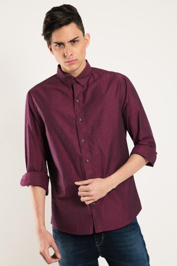 Chic Camisa Koaj Jatbel Internal Button Ml 2/