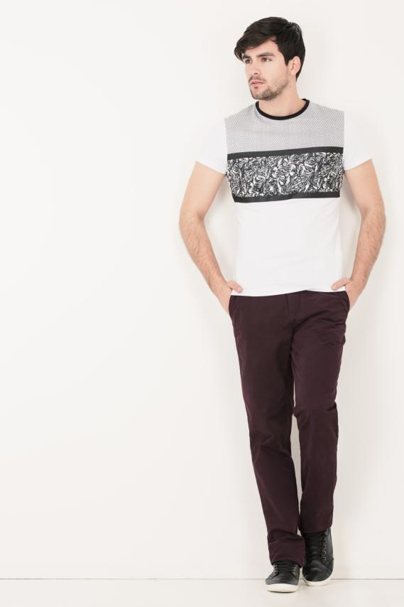 Basic Pantalon College Carry 13 Classic Fit 3/