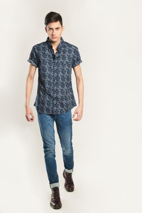 Trendy Camisa Koaj Mijail Sport Collar M/c 4/16