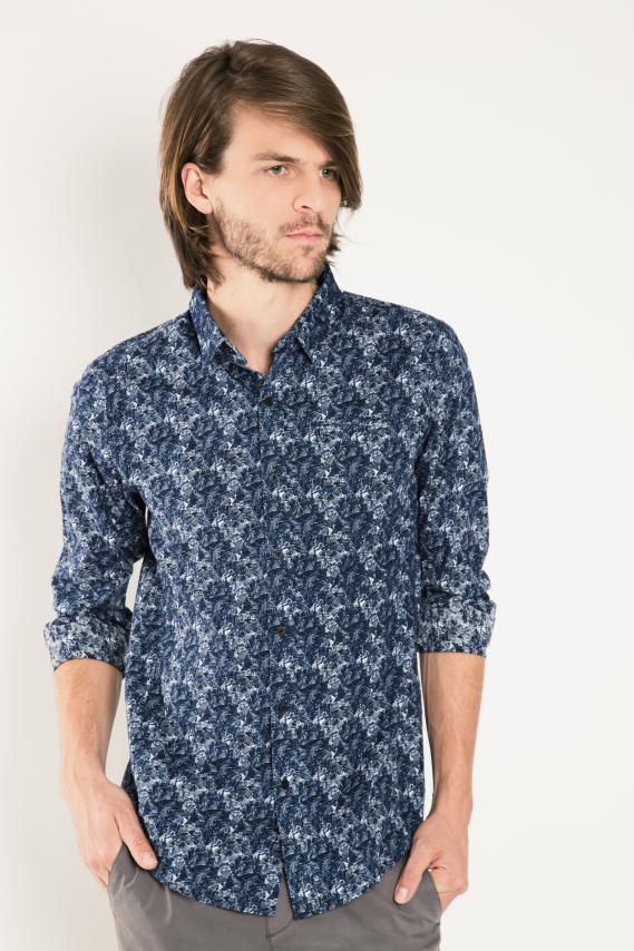 Trendy Camisa Koaj Mijail 1 Sport Collar M/l 4/