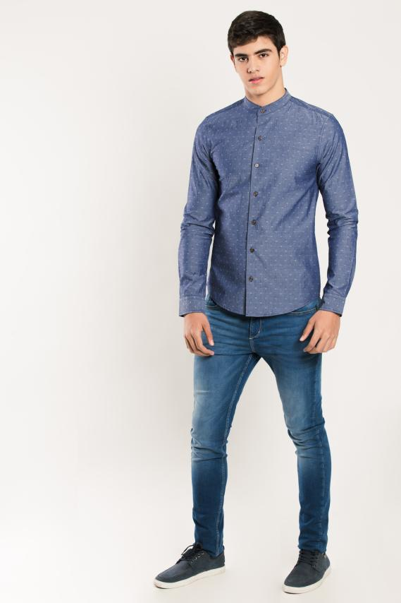 Trendy Camisa Koaj Tiga Super Slim Ml 4/16