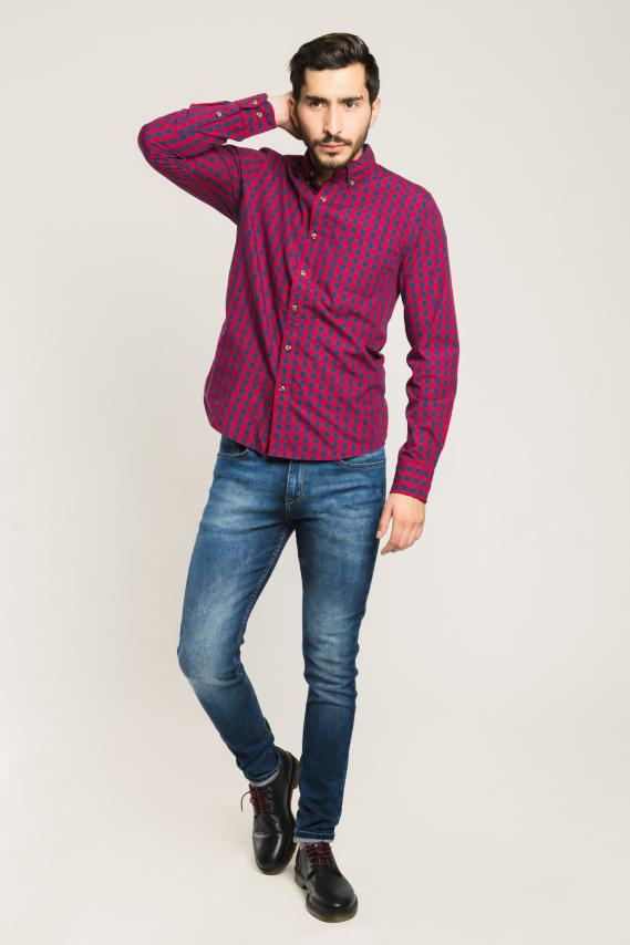 Trendy Camisa Koaj Laurent 9 Button Down Ml 4/1