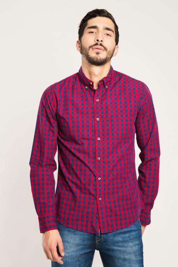 Trendy Camisa Koaj Laurent 9 Button Down Ml 4/1