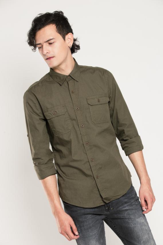 Trendy Camisa Koaj Tailor Slim M/l 4/16