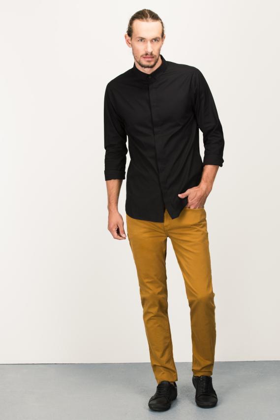 Glam Camisa Koaj Mud Internal Button Ml 4/16