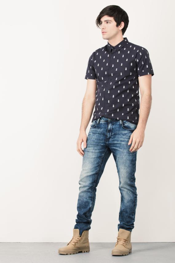 Trendy Camisa Koaj Pind Sport Collar M/c 4/16