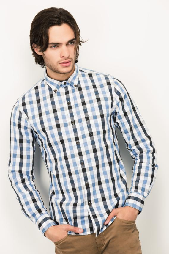 Trendy Camisa Koaj Jaby Button Down M/l 1/17