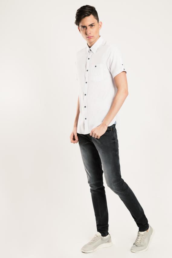 Glam Camisa Koaj Moet 1 Super Slim M/c 1/17