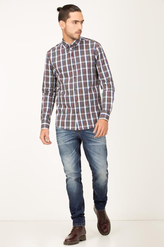 Basic Camisa Koaj Kelbyn Button Down M/l 2/16