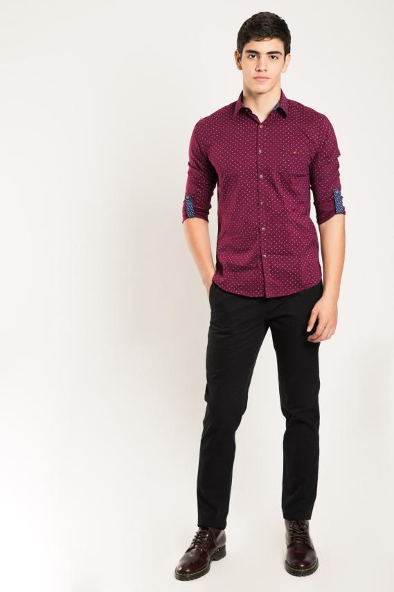 Glam Camisa Koaj Row Slim M/l 4/16