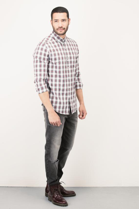 Basic Camisa Koaj Adolph Button Down M/l 4/16