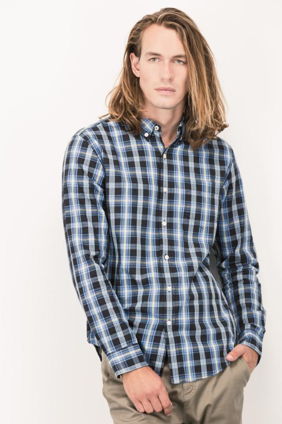 Basic Camisa Koaj Noak Button Down M/l 4/16