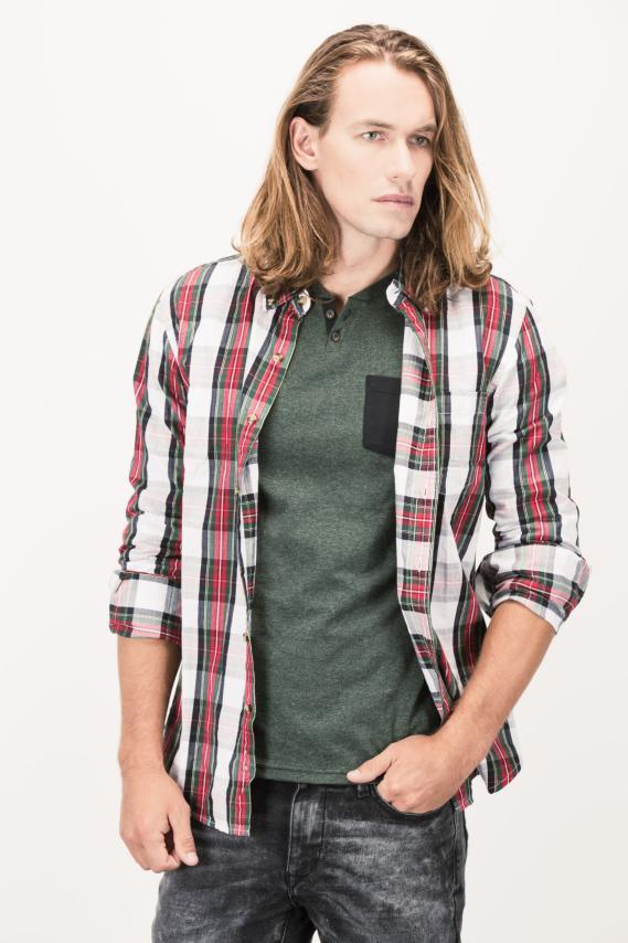 Basic Camisa Koaj Ancel Button Down M/l 4/16