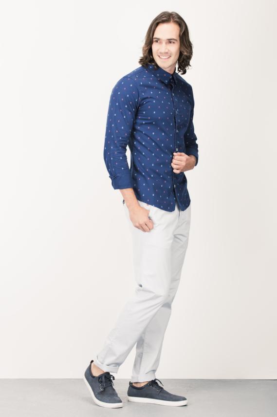 Trendy Camisa Koaj Trony Sport Collar Ml 4/16