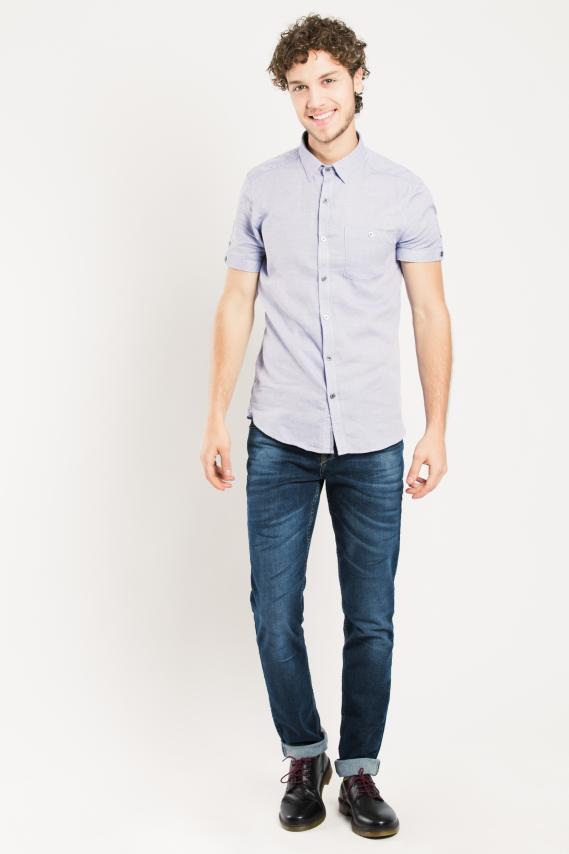 Glam Camisa Koaj Moet Super Slim M/c 4/16