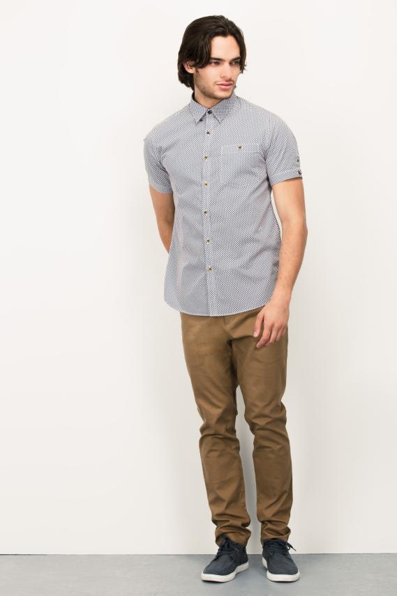 Glam Camisa Koaj Tinot Super Slim M/c 4/16