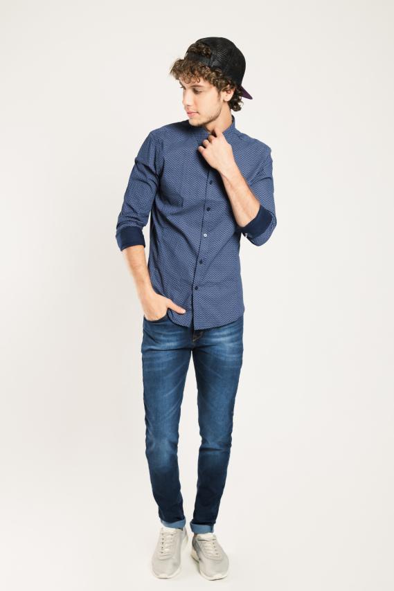 Glam Camisa Koaj Hut Slim M/l 4/16