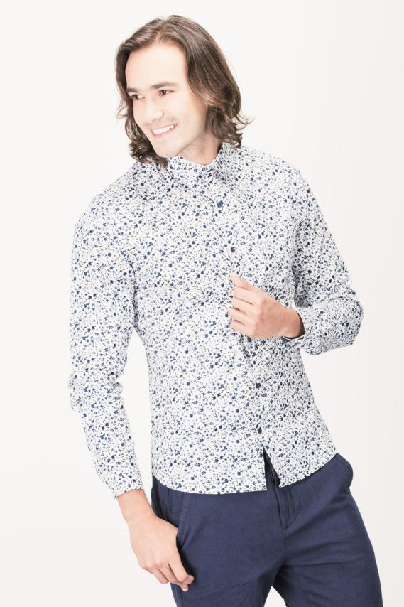 Glam Camisa Koaj Picasso C.c With Stays Ml 4/