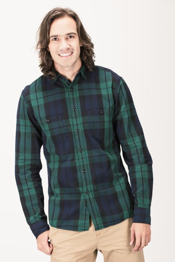 Trendy Camisa Koaj Teilen Muscle M/l 4/16