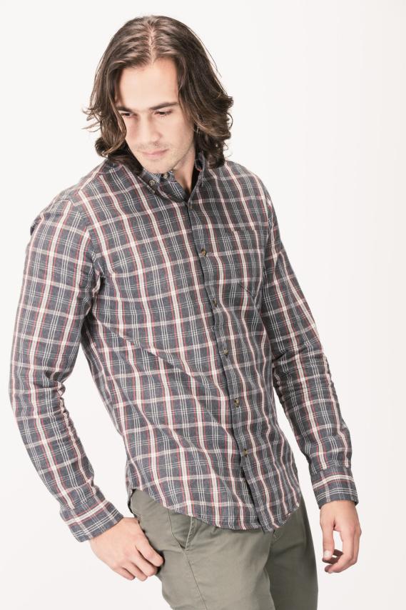 Basic Camisa Koaj Orlando Button Down Ml 4/16