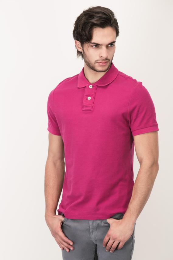 Basic Camisa Polo College Cavaldi 3/16