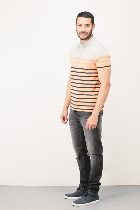 Basic Camisa Polo College Cler 4/16