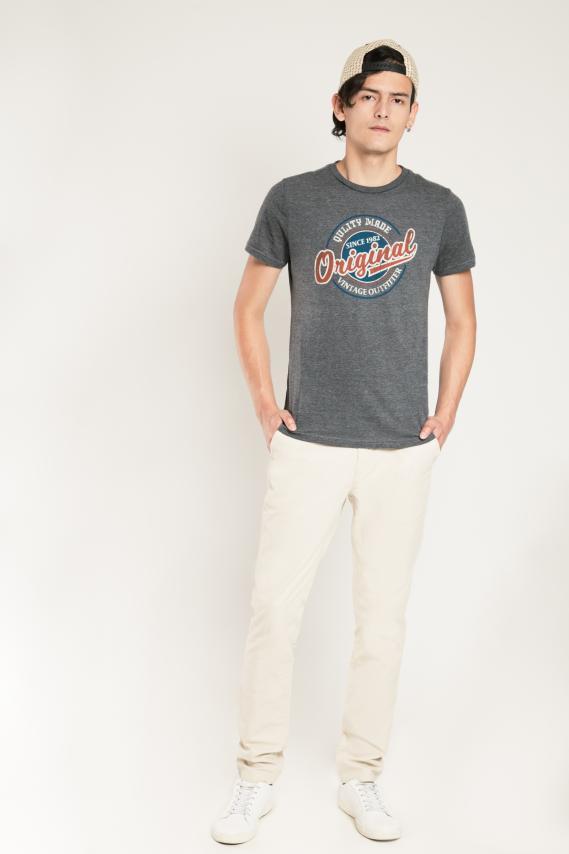 Basic Pantalon Koaj Pinton 19 Slim Fit 1/17