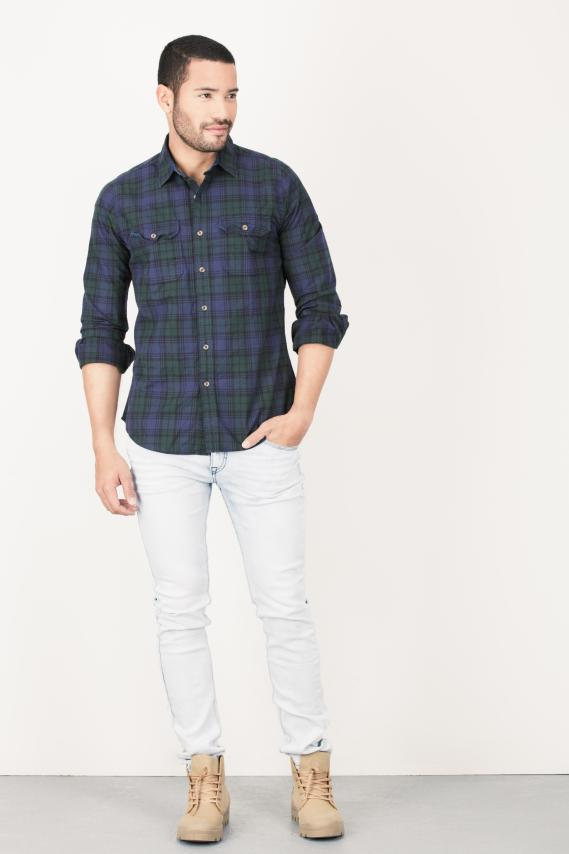 Jeanswear Pantalon Koaj Ocre Skinny 4/16