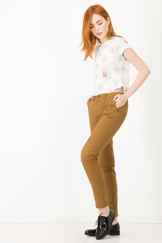 Basic Pantalon College Aixa 14 Slim Fit 3/16