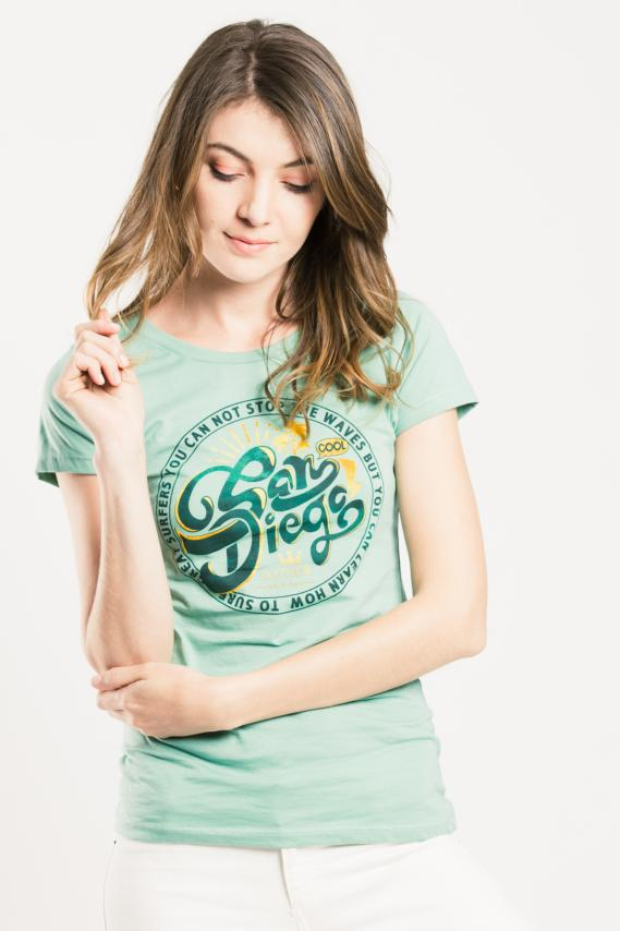 Basic Camiseta Koaj Hydra 4f 2/17