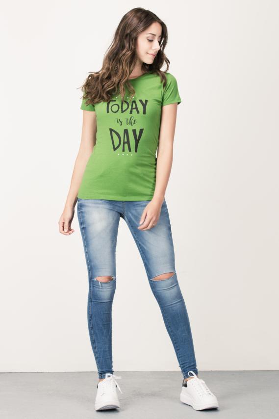 Basic Camiseta Koaj Frezia 6f 4/16