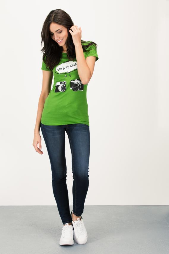 Basic Camiseta Koaj Frezia 6h 4/16
