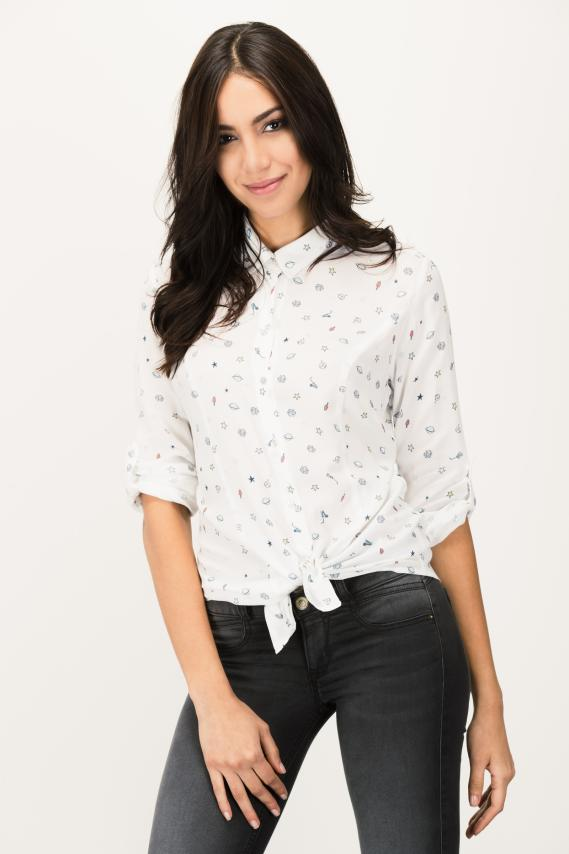 Jeanswear Blusa Koaj Flovy 1/17
