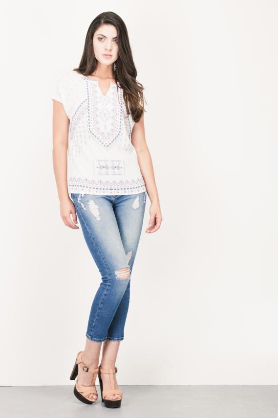 Jeanswear Blusa Koaj Malaga 4/16