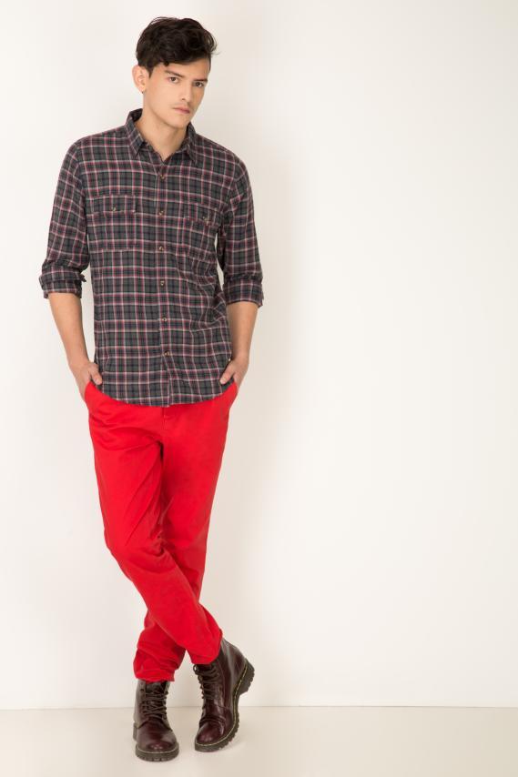 College Pantalon Pronto Teodoro 8 Slim Fit 1/16