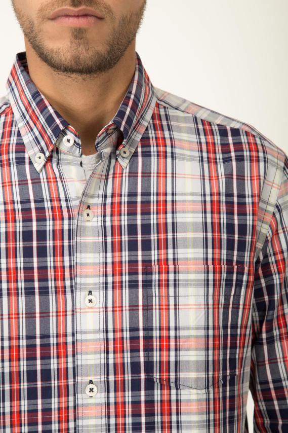 Basic Camisa Pronto Buble Button Down M/l 2/16