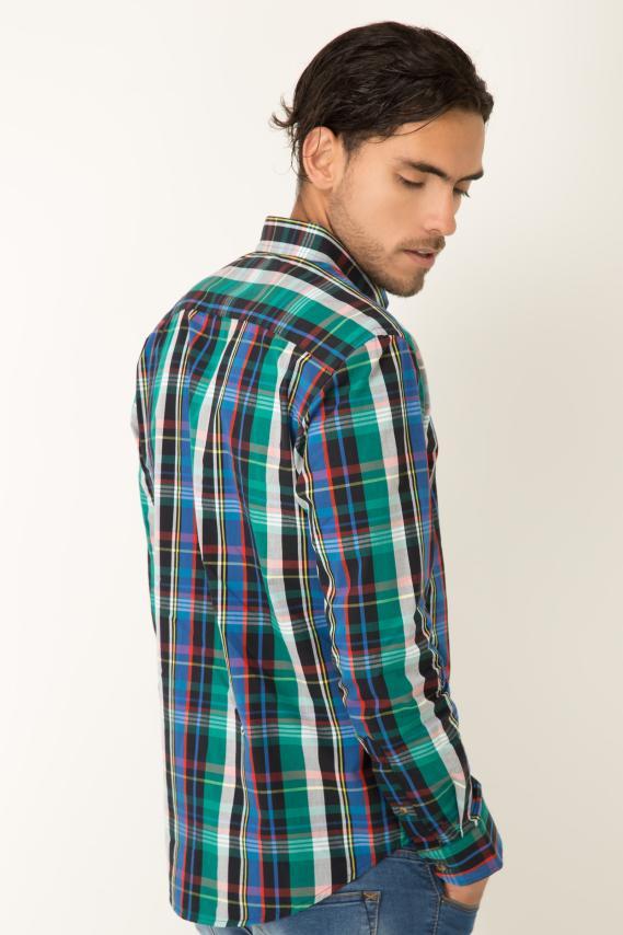Basic Camisa Pronto Benson Button Down M/l 2/1