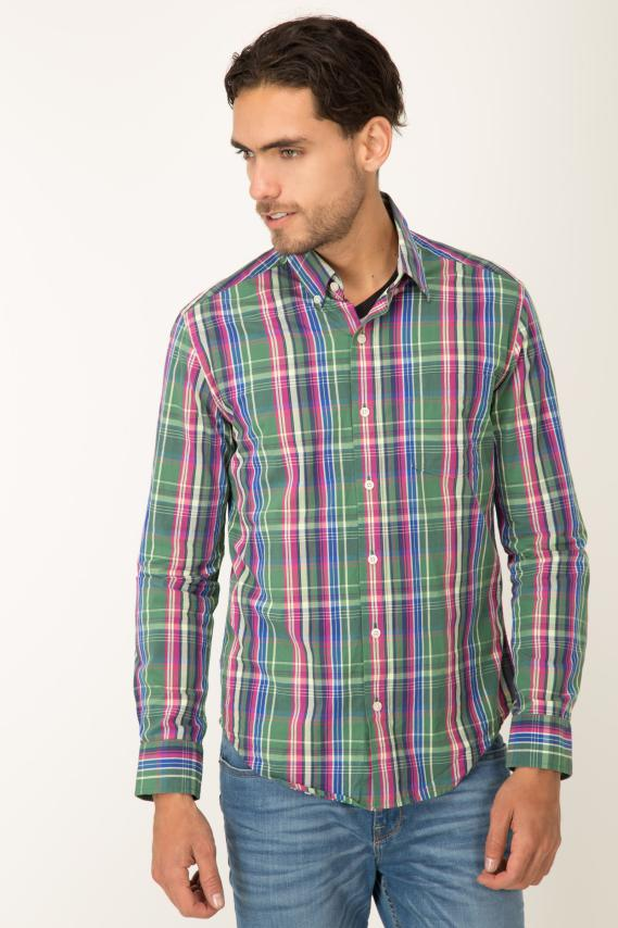 Basic Camisa Pronto Cooke Button Down M/l 2/16