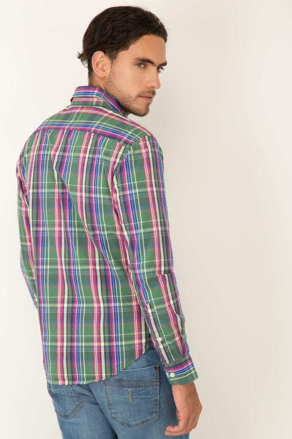 Basic Camisa Pronto Cooke Button Down M/l 2/16